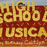 High School Musical Cake This was for my daughters bday - there wasa little mishap on the way so the icing under the C and the H is a little smudged but I think all...