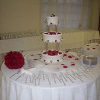 First Official Wedding Cake