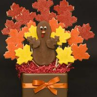 Gobble Gobble I made this bouquet for my teacher friends at school to wish everyone a Happy Thanksgiving. I saw the idea on the Wilton website and...