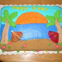 Picture_Off_Camera_167.jpg This is one of the first cakes I ever done myself! The sand is brown sugar