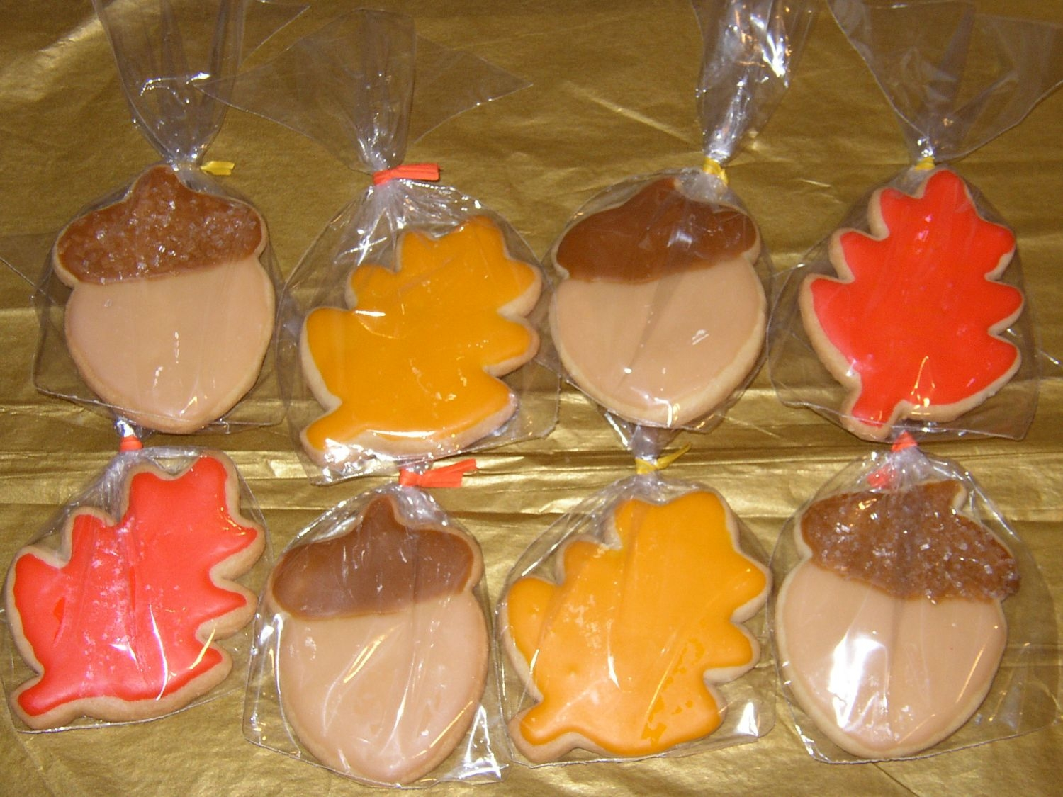 Fall/thanksgiving Cookies  These were some samples I made to show what I am doing for Thanksgiving. I am not sure yet how I feel about the acorn. One was made with...