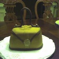 Small Purse Cake My first try at a purse cake. Learned some lessons for next time.