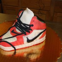Sneaker Sample made of sneaker cake. will need to make a size 10 grooms cake.