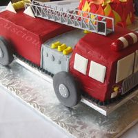 Fire Truck Cake Here's a cake I made for the town fire chief who was retiring. Many thanks to TheCakeWizard for helping me and for inspiring me. Cake...