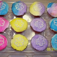 Cupcakes For The Luau Party At Dance