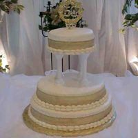 50Th Anniversary My first tiered cake!