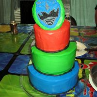 Power Ranger My nephews have joint birthday parties, and sometimes they don't pick the same theme. One wanted Power Rangers, the other Star Wars....