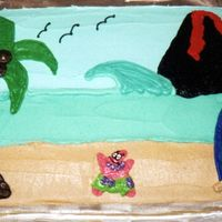 Hawaii I made this for my neice many years ago. She said she wanted something hawaiian. I did the beach scene and added Patrick since she was into...
