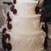 Buttercream Red Velvet Wedding Cake