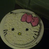 Hello Kitty This is a cake I made for a co-worker's birthday. She loves hello kitty.