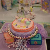Baby Shower Blocks This was done for a co-workers baby shower with a block theme. I covered the blocks with chocolate candy melts.