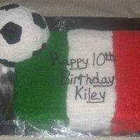 Soccer.jpg Birthday cake for a girl from Mexico