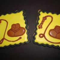 Indiana Jones Theme B-Day Party Cookie sugar cookie with royal icing