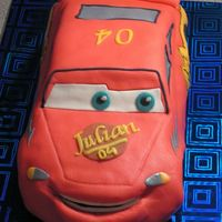 Cars Cake this cake is made from no butter sponge cake filled with yellow pudding and a meringe peanut cookie with chocolate ( the dutch call them...