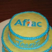 Close Up Of My Dh's First Fbct This is the FBCT that my husband did for the Aflac cake.
