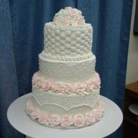 Wilton Master's Wedding Cake Took the Wilton Master's Course in November 2008.