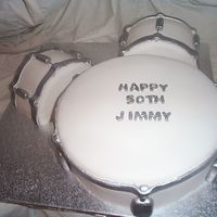 40Th Birthday Cake For Drummer Boy