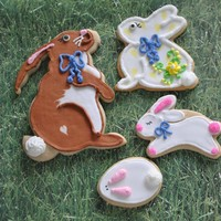Bunnies NFSC and Antonia Royal icing