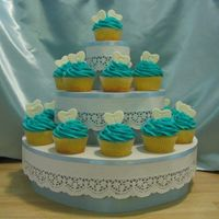 Cupcake Tower 'Got this from Wendy Kromer. Loved it! the color combinations are limitless!!!