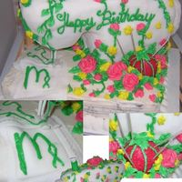 Sewing Machine Inspired by bpshirley's cakeCarrot cake covered in royal icing and fondant. My first time working with Fodant and constructing a cake...