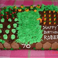 Vegetable Patch This cake was done for my uncle's 70th Birthday. He loves gardening.