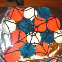 Spiderman Cupcakes   I made these cupcakes to suppliment the character cake I made for my sons 3rd birthday.