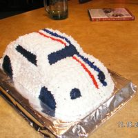 Herbie   After I took this picture I put the cars #s, with paper.