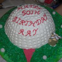 Im000843.jpg   this is a golf ball cake for my son in law and he just loved it