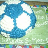 Soccer Ball Cake This is my 1st decorated cake. I don't go for cake classes, just as a hobby I like to bake. This time I thought of decorating the cake...