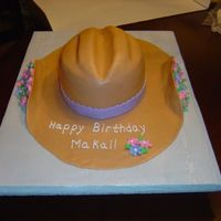 Cb_Hat_1.jpg MM fondant cowboy hat done for a little girl's 3rd birthday.