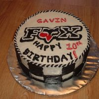 Fox Racing made for a 10 year old boy's birthday he races motorbikes i believe