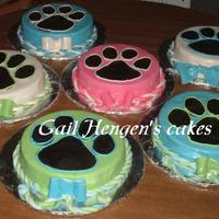 Fundraiser For Local Humane Society-Donation  this was my donation to our local Humane Society who was having a fund raiser today. Inspired by SugarShacks *Gorgeous* Oreo paw print cake...