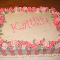 Kaitlin.jpg This was one of my first cakes done for a sweet 16 party. It was my first attempt working with fondant.