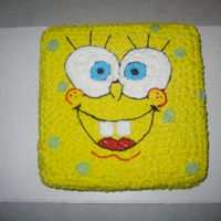 Spongebob Spongebob cake I made for my sons birthday