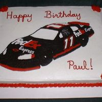 Nascar Cake Did this for a girl at work whose husband likes this driver. FBCT