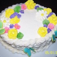 Basket Cake This was my first basket cake from class. This was a fun one to make!