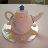 Tea Pot Cake This is my first time doing one of these. I enjoyed it.