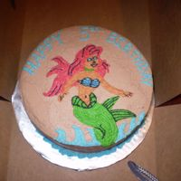 Mermaid Birthday Cake Mermaid Birthday Cake