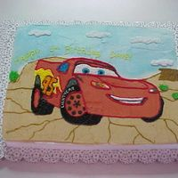 Lightning Mcqueen Sheet Cake Lightning McQueen Sheet Cake