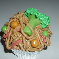 "Chinese Food Cupcakes   From the book ""Whats New Cupcakes"". These were so fast and cute to make."