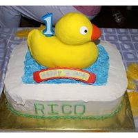 Rubber Ducky For my son's 1st birthday.