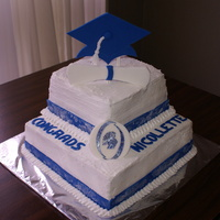 Graduation Cake Made it for my niece who graduated from high school.