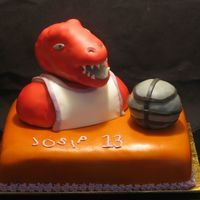 Raptors Birthday Cake