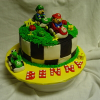 Mario Kart Butter Cream & MMF