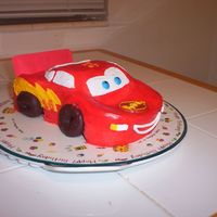 Lightning Mcqueen This was for my nephew's 9th birthday. He wanted a CARS cake. I got the idea from a friend who found it somewhere on CC. Thanks! It is...