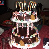 Christmas Cake   Copied from Wilton.
