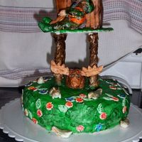 Father's Day Cake For Hunting Lover