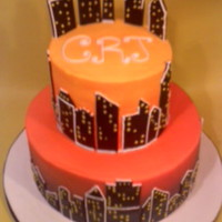 City Skyline Cake This was one I did for a customer that was inspired by a cake from CMNY Cakes. I made a few changes at the customer's request and had...