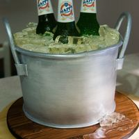 Beers In Bucket   This cake is for my Dad's birthday.