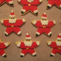Santa Cookies Saw this idea on here a while back but I'm sorry I don't know from who!